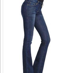 Cabi #120 Galaxy Wash Curvy Slim Boot Jeans